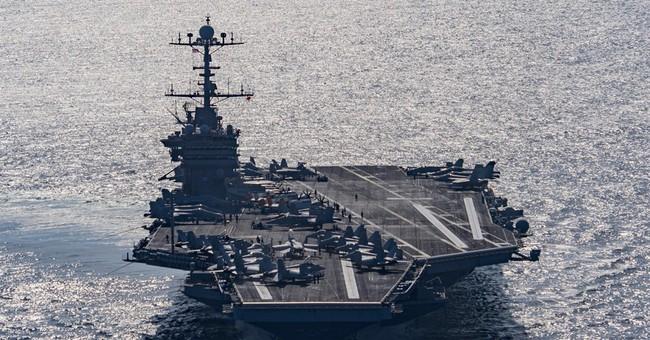 US accuses Iran of conducting rocket test near warships