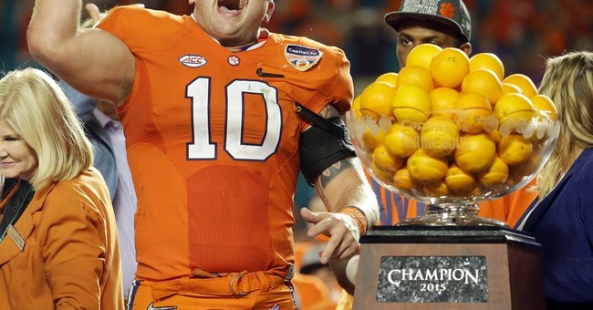 Clemson playing for a title, and for history