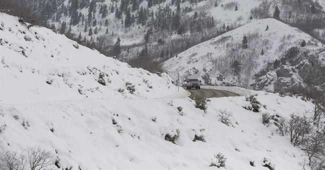 Utah woman recounts 320-foot tumble off slick mountain road