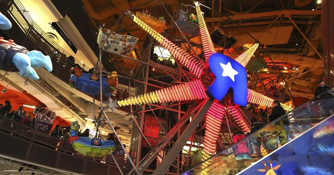 Toys R Us closes flagship store: Ferris wheel, T-Rex and all
