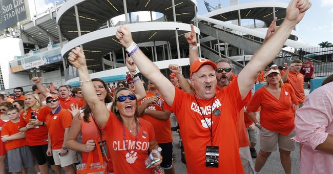 No more Clemsoning: Tigers headed to national title game