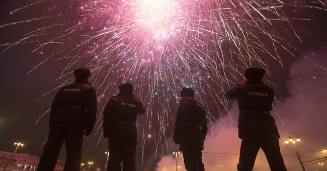 AP PHOTOS: Happy New Year! World celebrates 2016