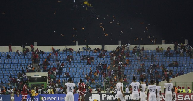 Equatorial Guinea fined $100K for crowd violence