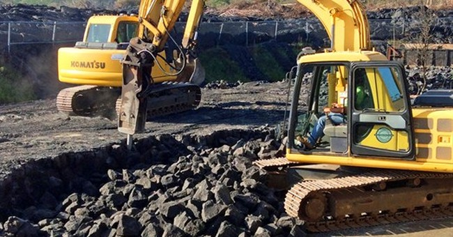 Crews clearing 1,200 tons of lava rock from transfer station