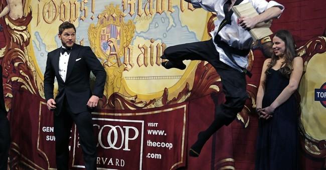 Hasty Pudding winner Chris Pratt roasted at Harvard