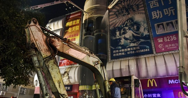 Fire in southern China market kills at least 17 people