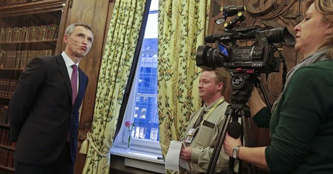 AP Interview: NATO head says Ukraine ceasefire top priority
