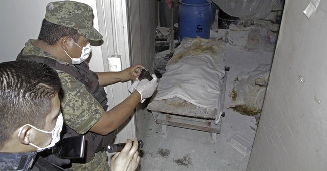 Mexican officials find 60 abandoned bodies at funeral home