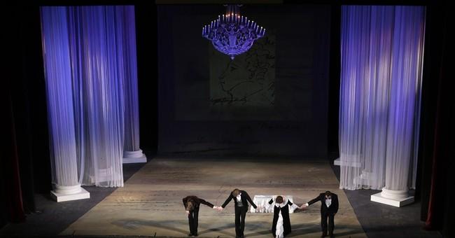 Opera house in Ukrainian rebel city raises spirits