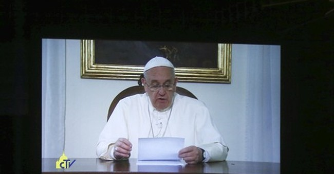 Pope emphasizes right to food in address to 500 experts
