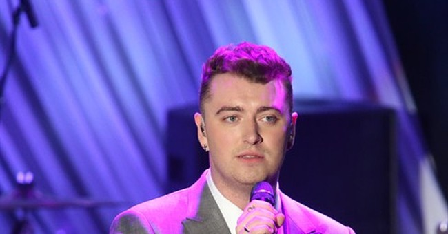 SHOW BITS: Sam Smith plans to eat like a winner