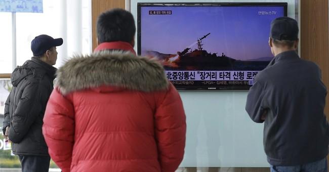 North Korea test-fires 5 short-range missiles into the sea