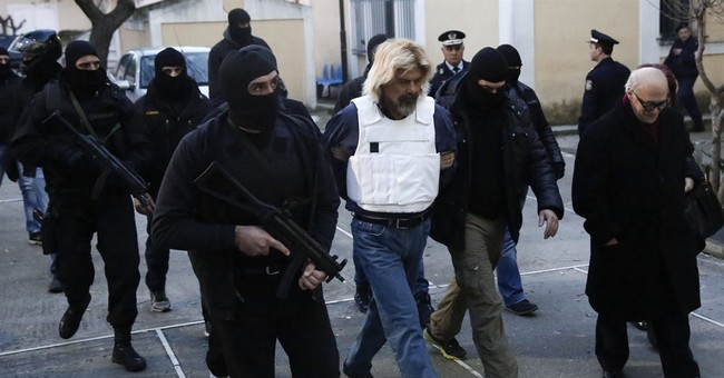 Arrested terrorist planned attack on Athens prison