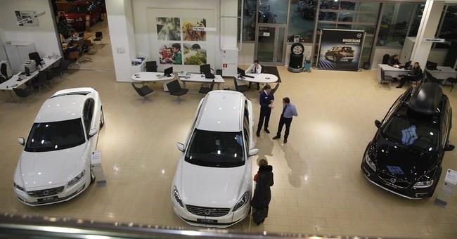 Russian car sales sink 24 percent in January
