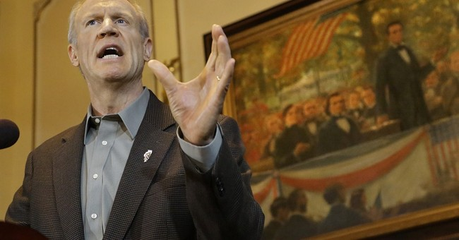 Gov. Rauner strikes first blow against public sector unions