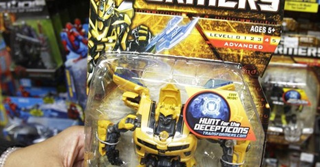Boys rule at Hasbro as superheroes, Transformers lift 4Q