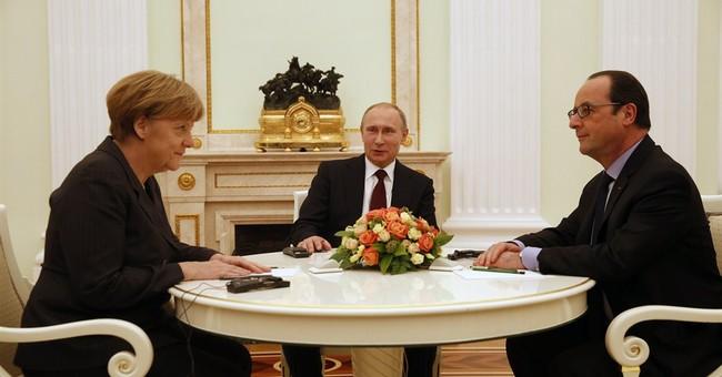 Obama, Merkel rally behind diplomacy in Ukraine conflict