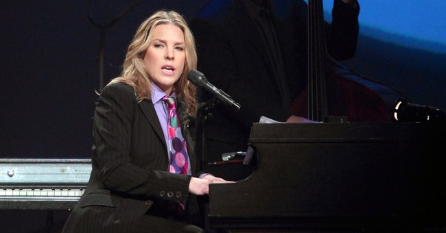 Diana Krall turns to pop on new CD 'Wallflower'