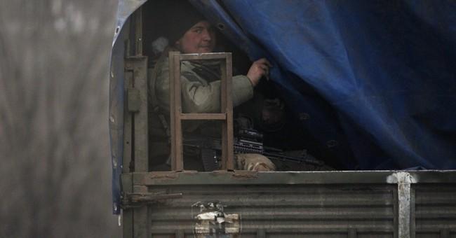 Fighting intensifies in eastern Ukraine ahead of peace talks
