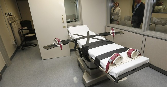 Nitrogen gas death penalty bills clear Oklahoma panels