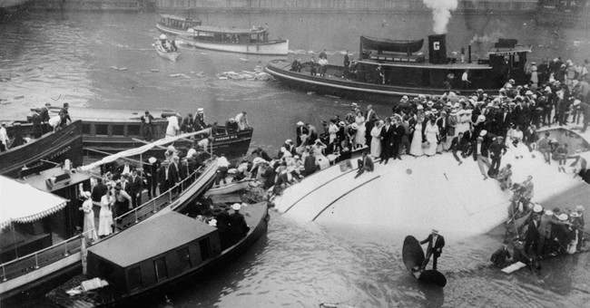 Footage of 1915 Chicago ship disaster that killed 844 found