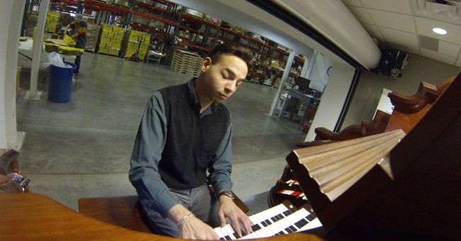 Lip balm maker builds theater pipe organ in warehouse