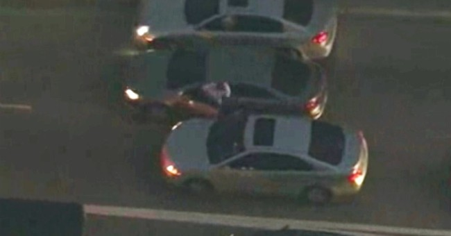 Police: Gunman shot after carjacking pursuit is gang member