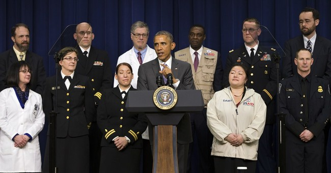 Obama says US has 'risen to the challenge' of fighting Ebola