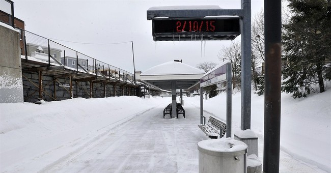 Boston-area transit system head resigns after snow delays