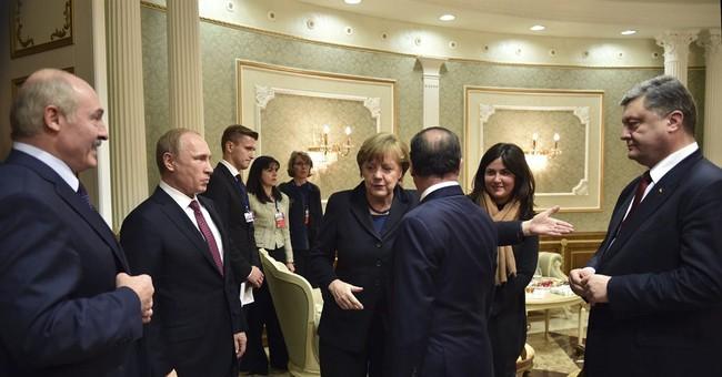 Leaders in Minsk for crucial Ukraine peace talks