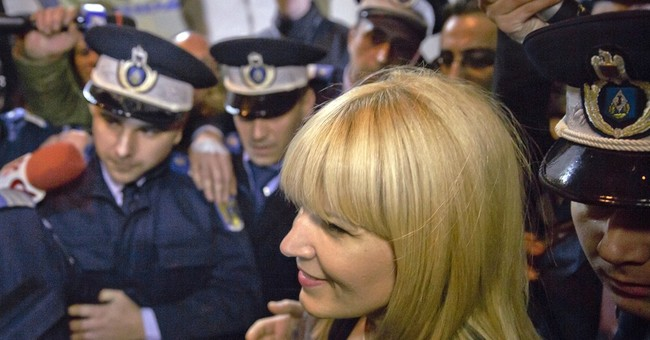 Arrested Romanian ex-minister wants to wallpaper her cell