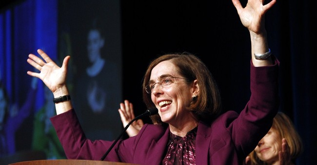 Oregon governor planned to quit but changed his mind