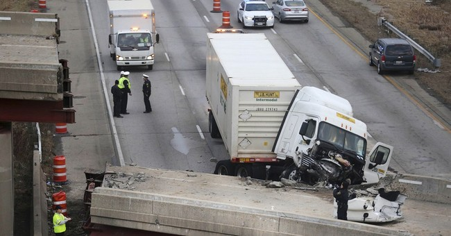 Family of worker killed when overpass collapsed sues Ohio