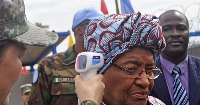 Liberia president calls for zero Ebola cases, vigilance