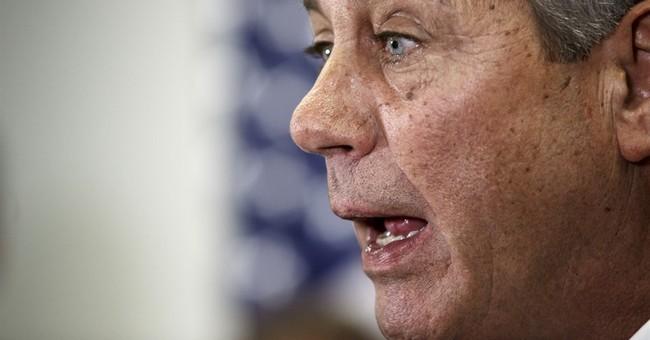 Boehner challenges Senate Democrats to 'get off their ass'