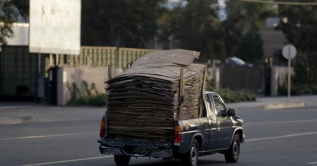 California authorities crack down on cardboard theft