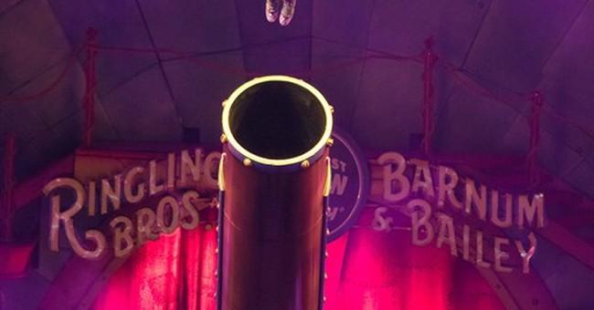Ms. Big Shot: Human cannonball Gemma Kirby makes flying cool