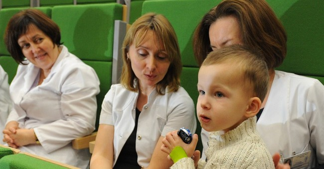 Polish toddler found in freezing cold last year goes home