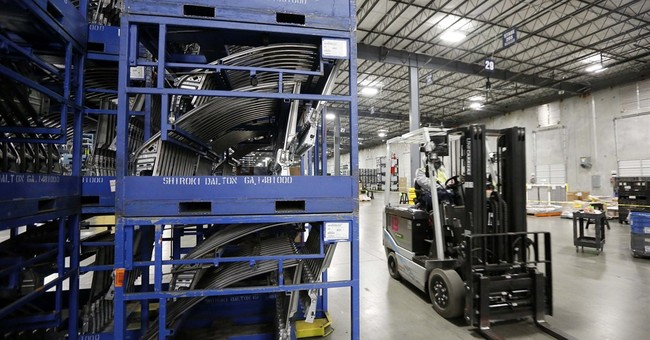 US business stockpiles edge up 0.1 percent