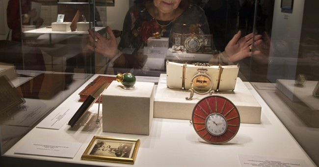 Tycoon donates Russian royal treasures including Faberge egg