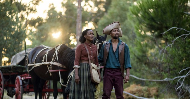 A heroic woman's journey in BET's film 'The Book of Negroes'