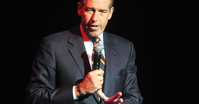 Brian Williams suspended for it, but everybody embellishes