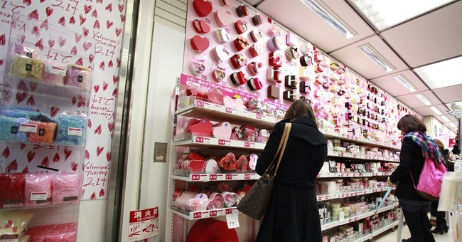 JAPAN DIARY: Women, not men, buy the Valentine's Day sweets