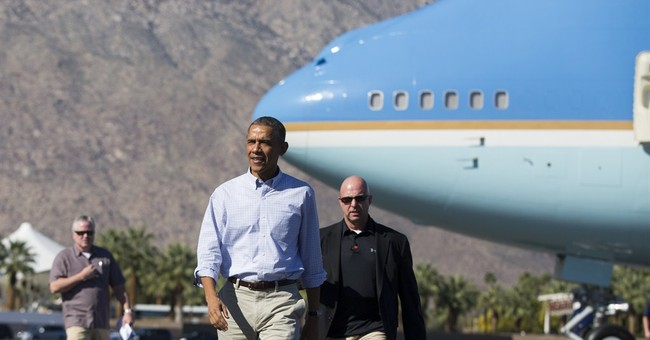 Obama spending long holiday weekend in Southern California