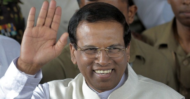 Sri Lanka's new president makes India his 1st visit abroad