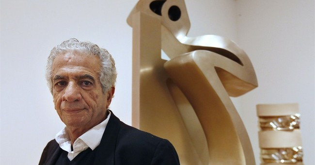 A show about 'nothing:' famed Iranian artist makes US debut
