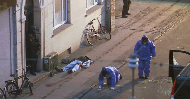 A timeline of events in the Copenhagen shootings
