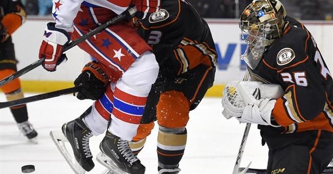 Alex Ovechkin's 2 goals help Capitals beat Ducks 5-3