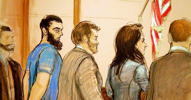 Defendant cross-examines convicted terrorist at US trial