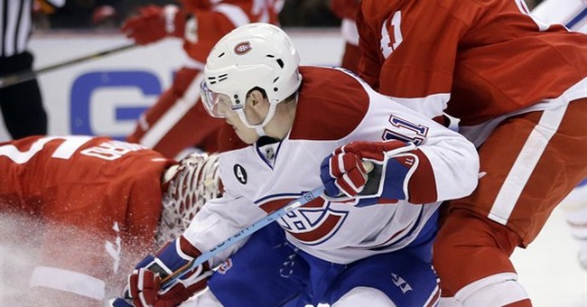 Plekanec, Price lead Canadiens to 2-0 win over Red Wings